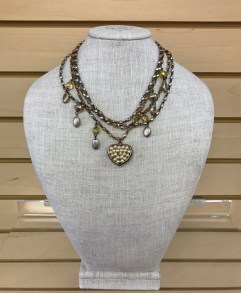 $59 Beaded Pearl necklace