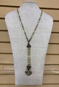 $59 beaded stone necklace