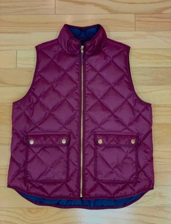 $39 Sz L J. Crew vest