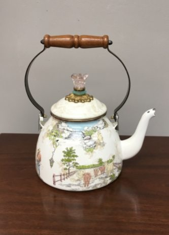 Mackenzie Child's tea kettle $69