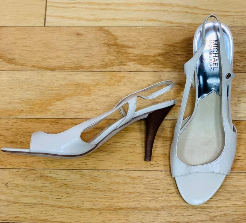 Michael Kors leather heel size 10 $45