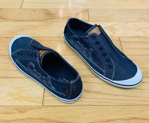 Coach denim sneakers Size 8 $65