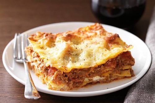 Beef Lasagna Recipe