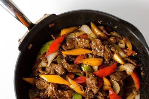 Beef Pepper Steak Recipe
