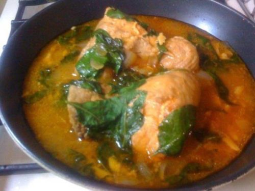 Chicken Hinalog Recipe