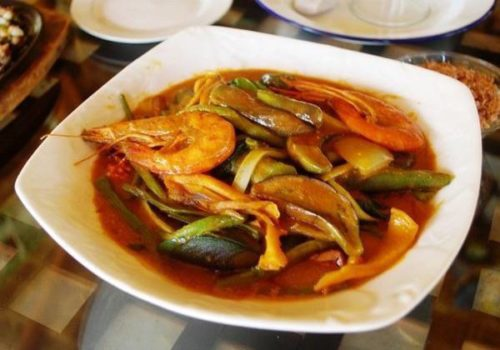 Shrimp Kare-Kare Recipe