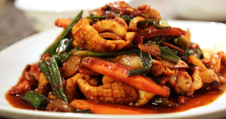 Spicy Stir-Fry Squid Recipe