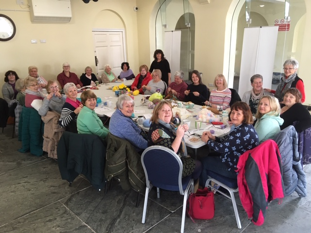 Co-Op supporting the Knit & Natter Group