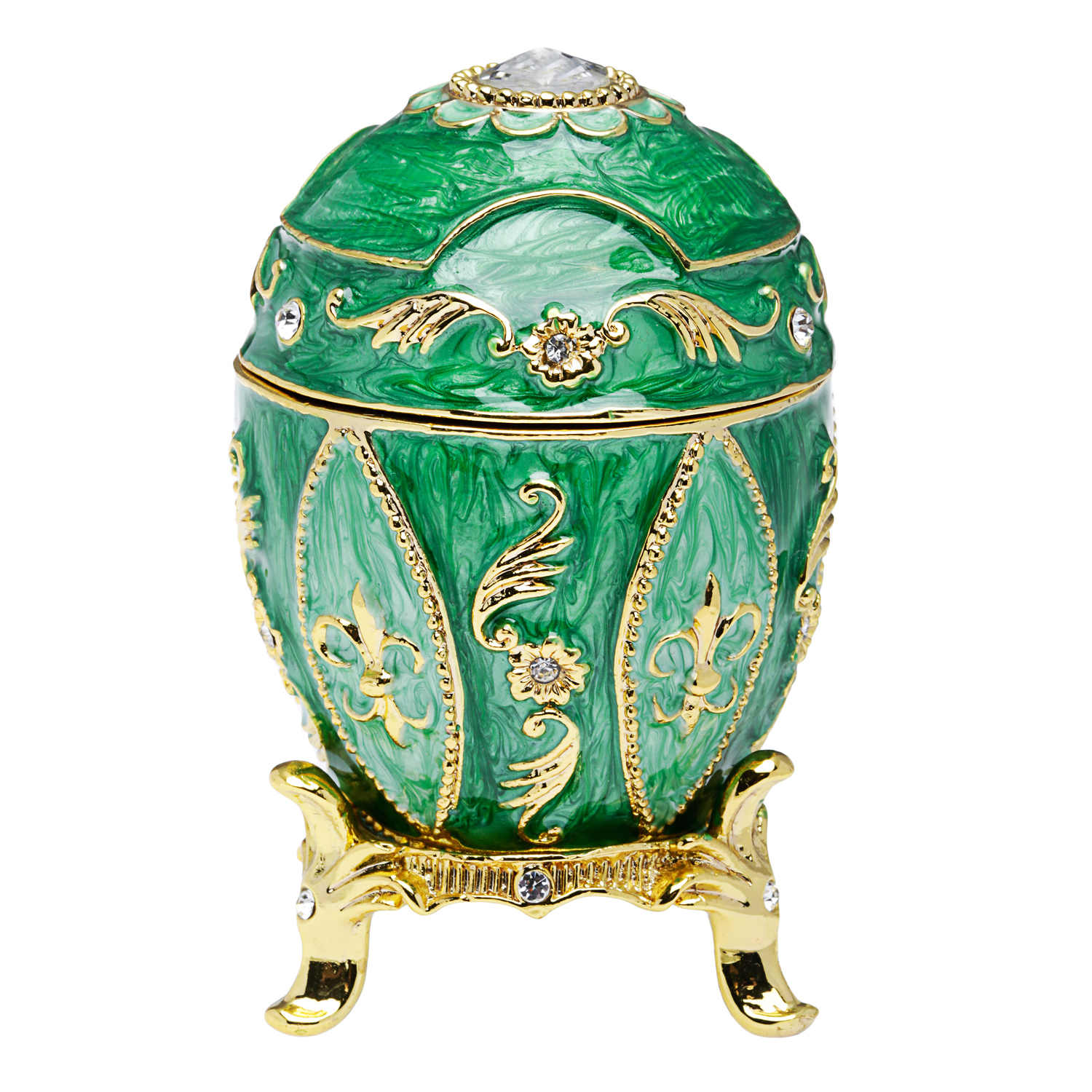 Taylor Avedon- Green Egg Music Box - Jewelry Outlet