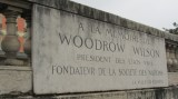Honouring Woodrow Wilson, League of Nations founder