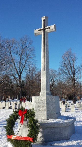 Cross of Sacrifice erected by Commonwealth War Graves Commission
