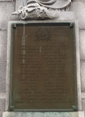 Soldiers of Chesley and area killed in the war