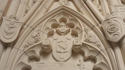 Carvings in Memorial Chamber