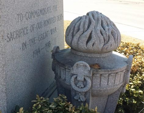 Dedication of Hanover war memorial