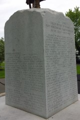 Killed or died from wounds from Moncton and Parish of Moncton in the Great World War