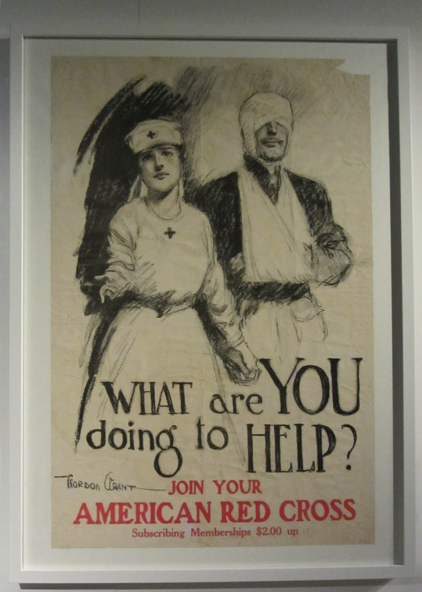 American Red Cross poster by Gordon Grant