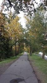 Pedestrian path near Prince's Island