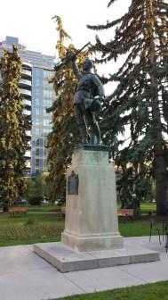 Statue by Coeur de Lion MacCarthy