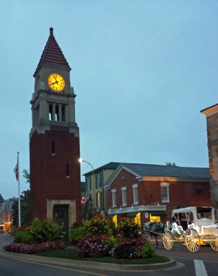Clock Tower in evening