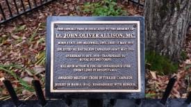 Lt John Allison, MC