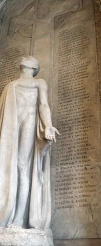 Frances Loring's war memorial in Great Library