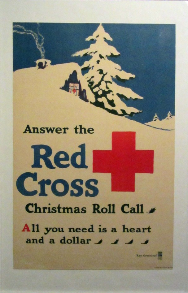Red Cross fundraising poster