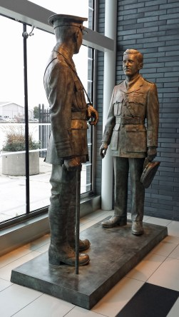 The first meeting of William Barker and Billy Bishop