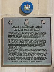 Plaque tells history of Great War Veterans' Association building in Calgary