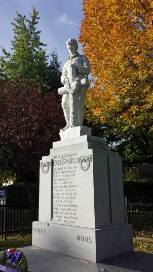 Priceville Cenotaph in Grey County