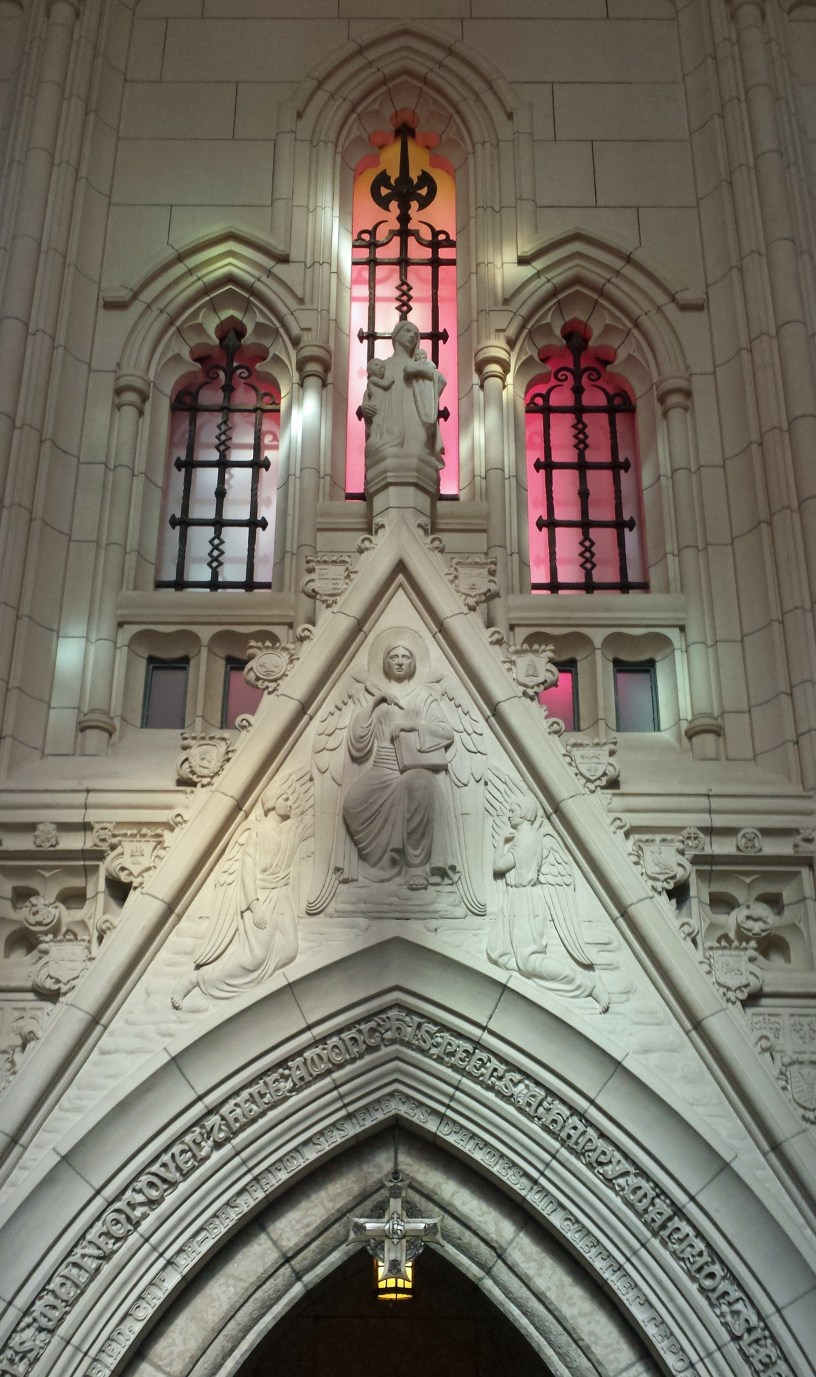 Recording Angel and War Widow by Frances Loring, Peace Tower, Ottawa