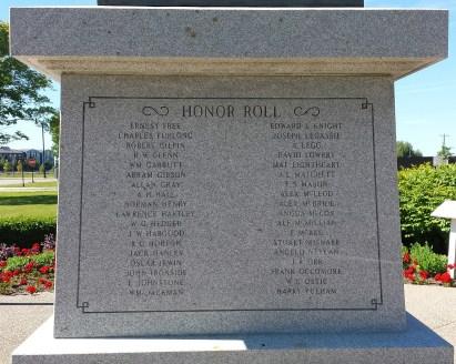 Collingwood Honor Roll