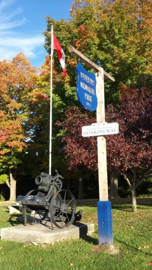 German mittlerer Minenwerfer in Durham Veterans Memorial Park