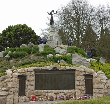 Caribou overlooks names of Newfoundlanders with no known grave