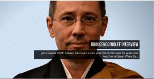 Gendo Sensei Interviewed at Sweeping Zen.