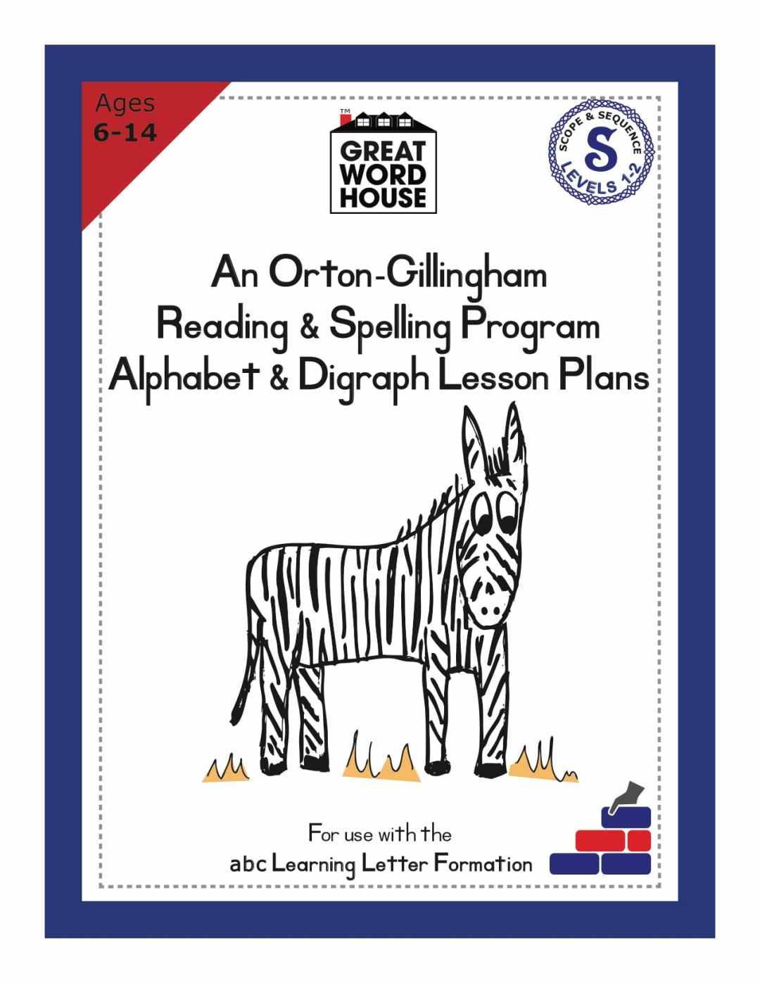Alphabet & Digraph Lesson Plans