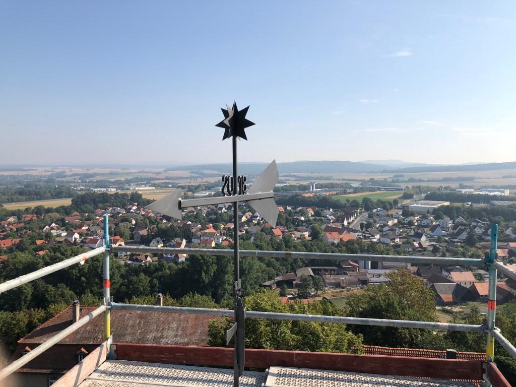 Kirchturmspitze Altenburg