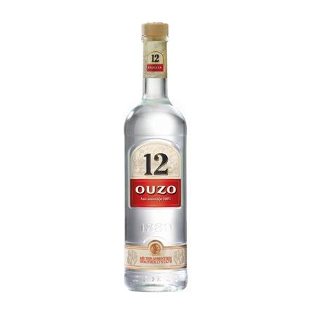 OUZO 12, GREEK APERITIF