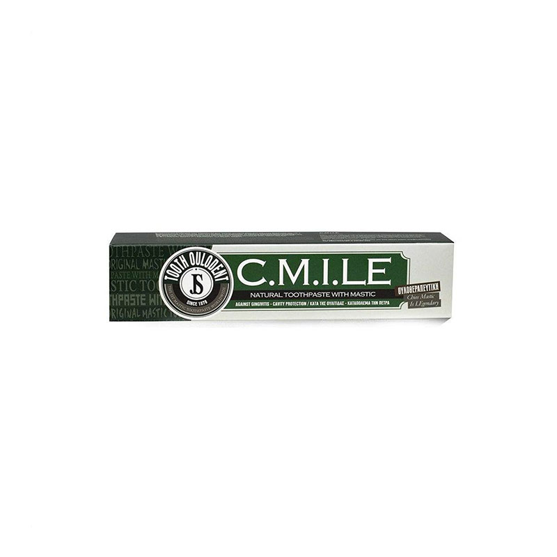 NATURAL TOOTHPASTE WITH MASTIC C.M.I.L.E