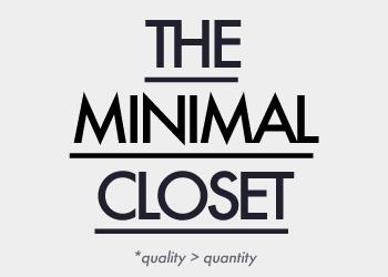 theminimalcloset, building a minimal closet