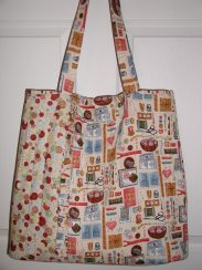 My quilted tote