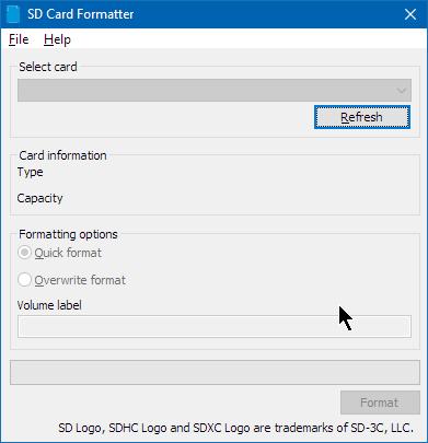 2018 04 08 15 59 16 SD Card Formatter   GrecTech