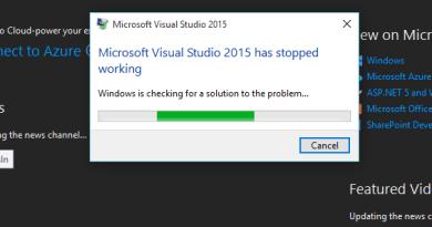 Cosa fare se Visual Studio 2017 non si avvia (o si chiude all'improvviso)