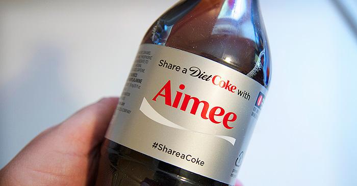 Diet Coke #ShareACoke