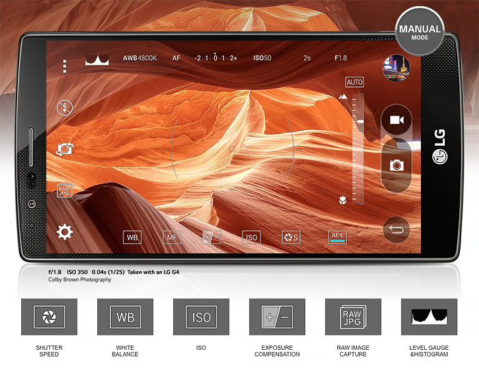 LG G4 Manual Mode