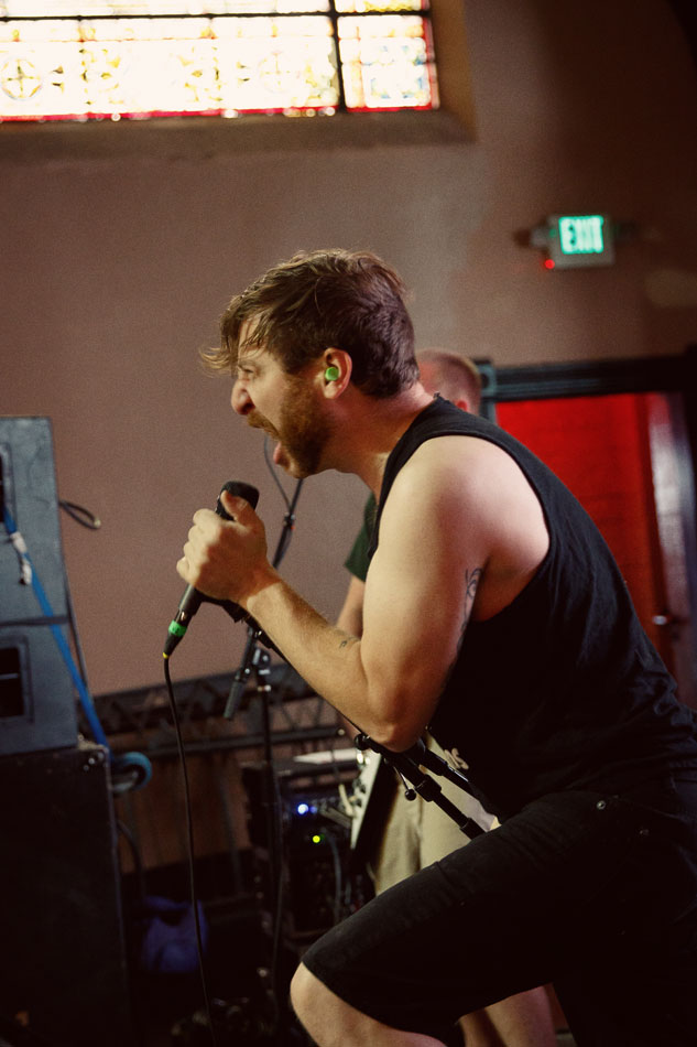 Denver band Allout Helter plays Westword Music Showcase 2016 at The Church.