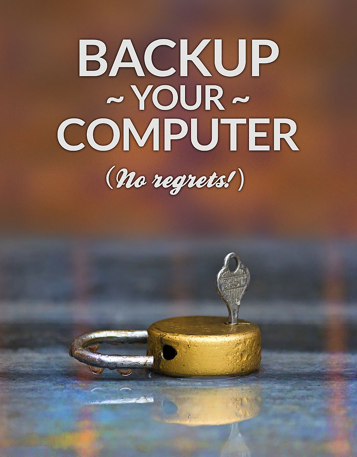 Have a computer backup plan! Here are steps for data storage and recovery. #technology #computers