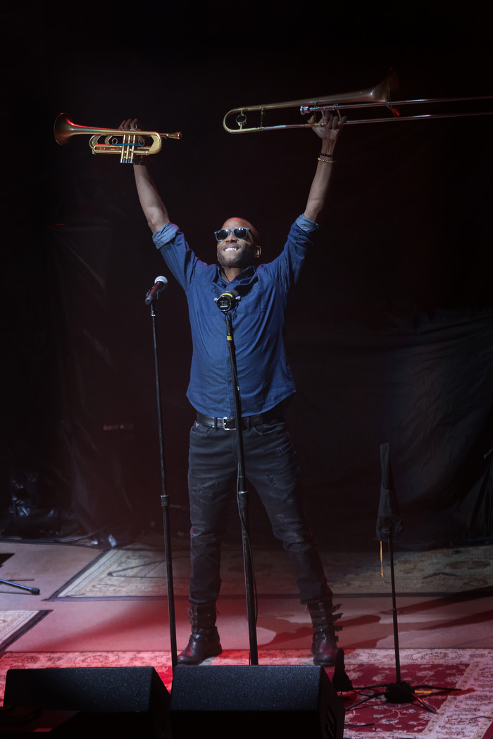 Trombone Shorty opens for Hall & Oates at Red Rocks