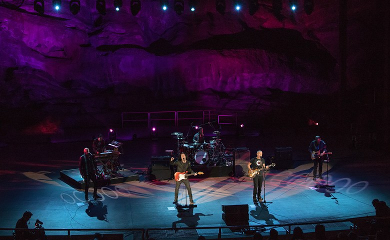 Tears For Fears at Red Rocks in Denver, 2016