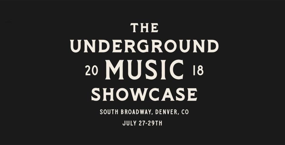 Underground Music Showcase (UMS) Lineup 2018