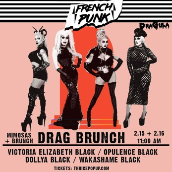 Thrice - French Punk Pop-Up - Denver Food & Drink Events